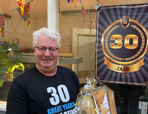 30 jaar jubileum