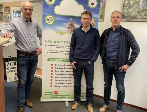 Mike Arntz nieuwe directeur operationele zaken Lankhof Beveiliging & Telecom.